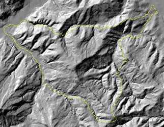 Exposure and steepness of slopes in 3D